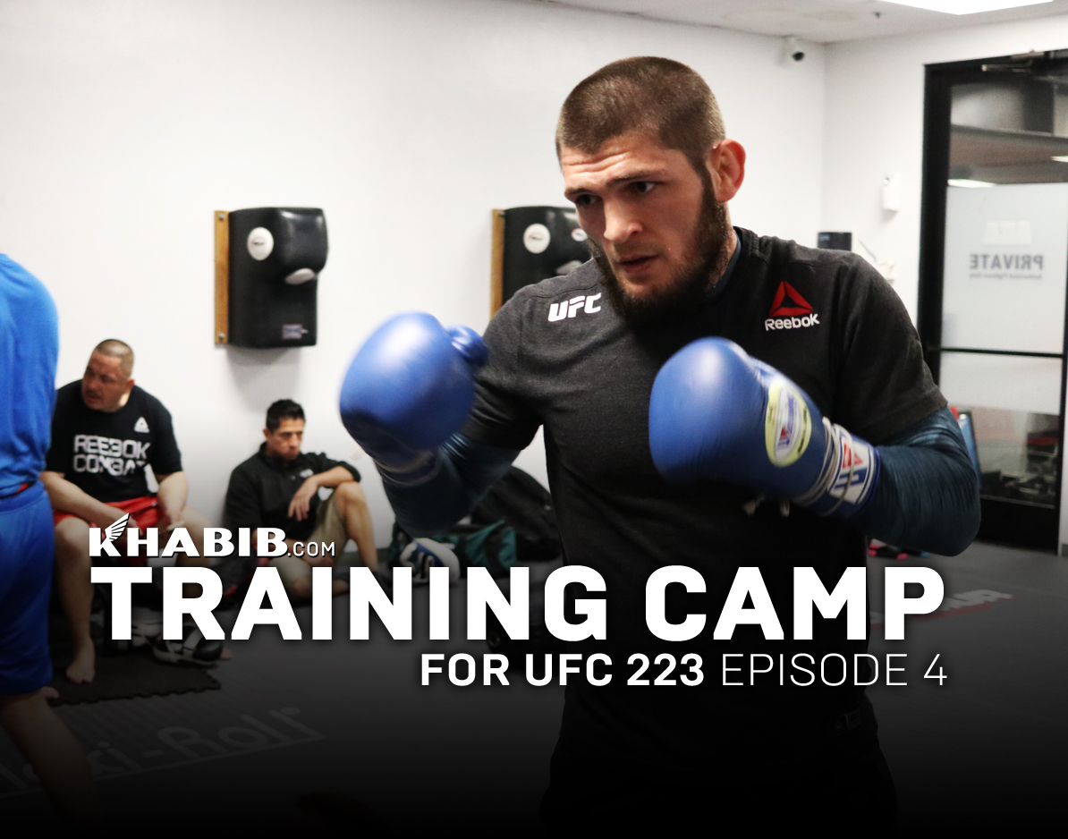 Training Camp: UFC 223 episode 4