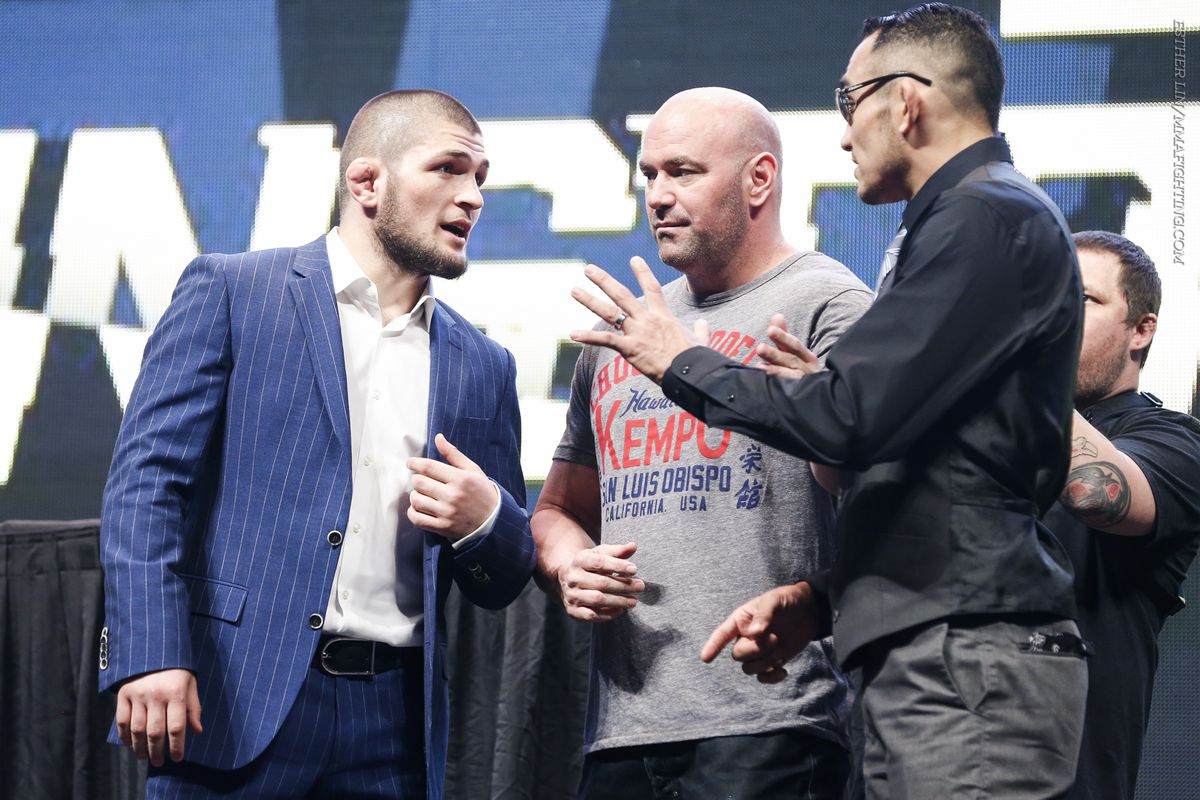 Khabib Nurmagomedov will meet with Tony Ferguson in a duel for the title of champion in lightweight division